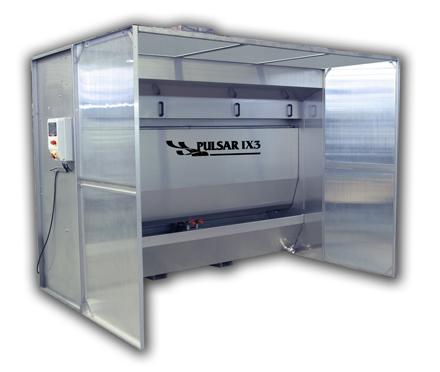 Maquina de cortina de agua de Cabanes