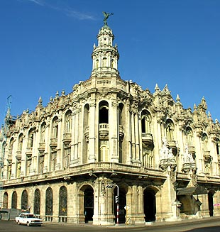 Sede del BNC en Cuba.
