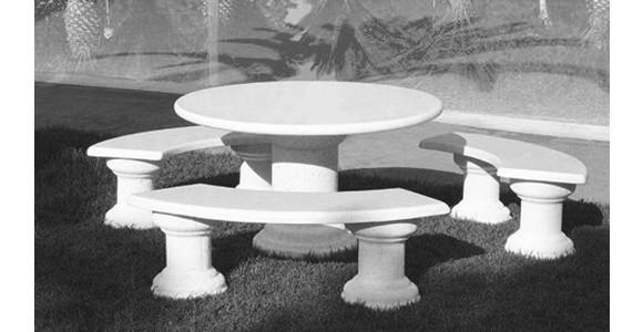 Mesas de dise o para exterior focus piedra noticias - Mesas de piedra para exterior ...