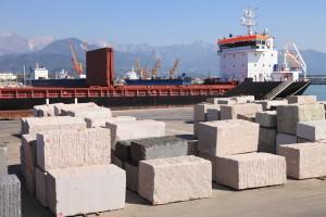 exportación piedra