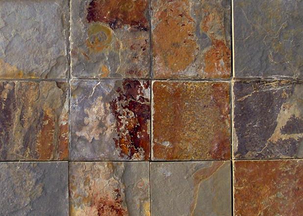 Decopanel puzzle multicolor de cupamat focus piedra for Piedra natural pizarra