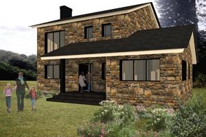 Fachadas de casas con piedra cantera and post pelautscom - Piedra para fachadas de casas ...