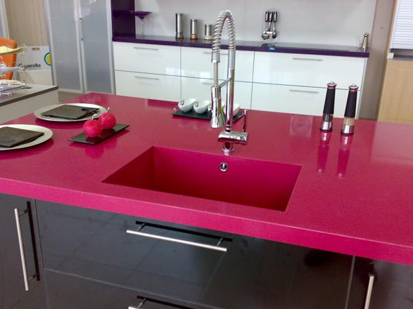 One quartz surfaces para encimeras de cocina focus - Encimeras de colores ...
