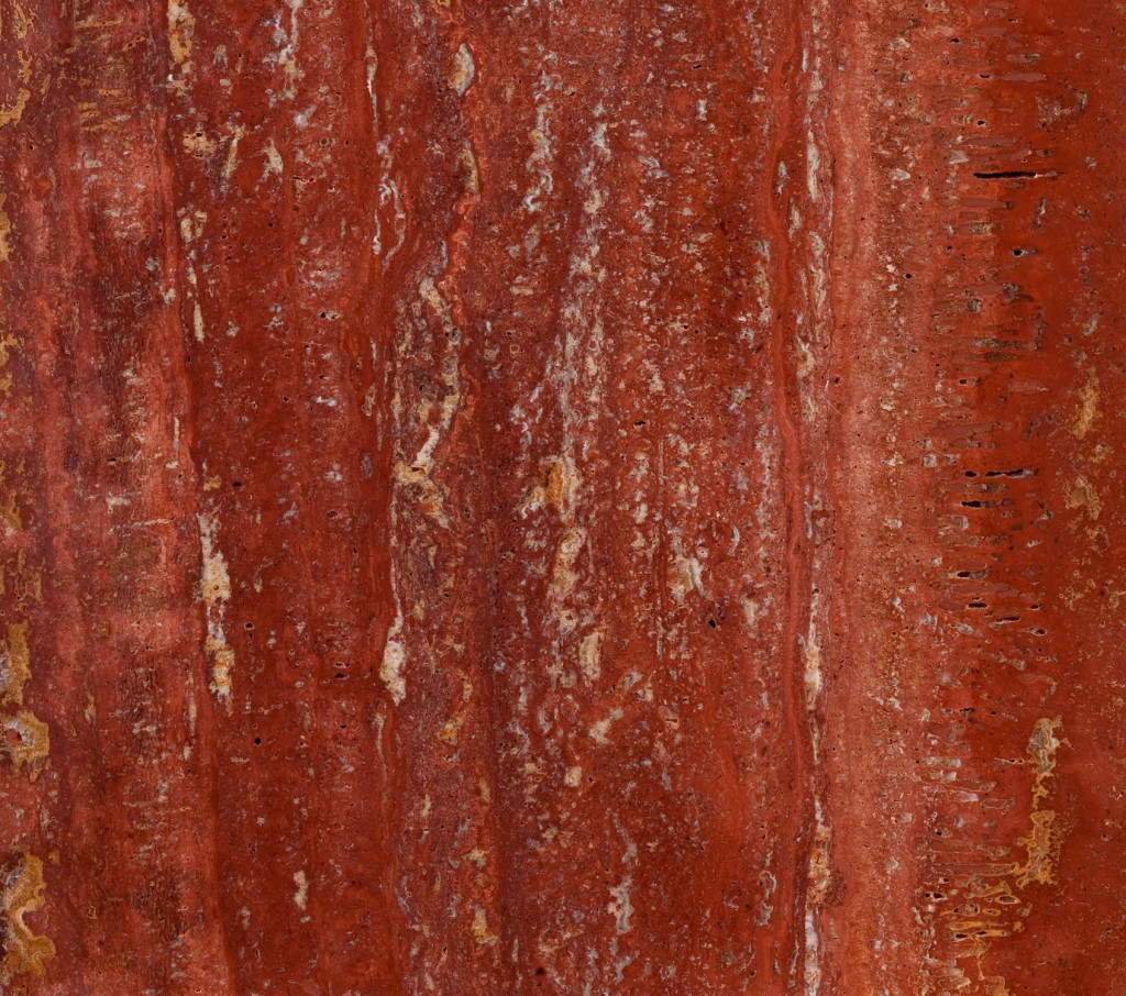 Plaza en m rmol travertino rojo en olula del r o focus for Piedra marmol travertino