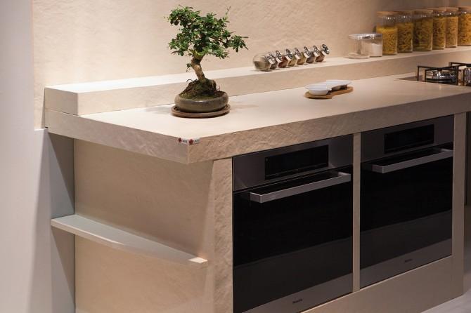 Okite lanza roccia effecto para encimeras de cocina - Encimera piedra ...
