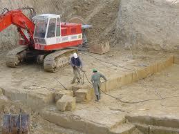 extracción piedra