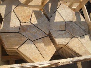 lajas de piedra