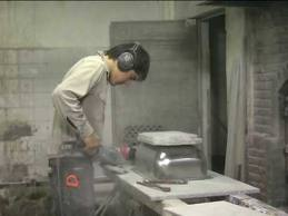 polvo marmoleria