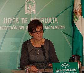 Adriana Valverde, delegada territorial de Economía, Innovación, Ciencia y Empleo de la Junta de Andalucía en Almería