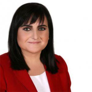 Isabel Arévalo,  delegada de Educación.