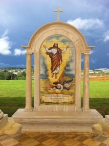 Premio nternacional Africa. MONUMENTO MISTERIOS DEL ROSARIO. MONGOMO. GUINEA ECUATORIAL