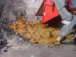 Consistencia de los lodos tras el proceso de deshidratación de lodos arenosos.