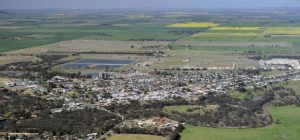 22/09/2011 NEWS: Crops Aerial Photos. Wimmera. Donald Township.