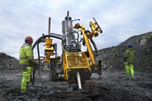 Explorac 100 reverse circulation drilling rig