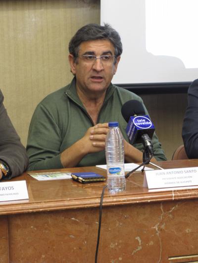 Juan Antonio Santo, presidente Asociación Mármol de Alicante.