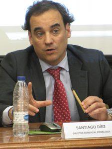 Santiago Díez, director comercial de Piedra 2014.