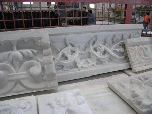 piezas de El Castillo