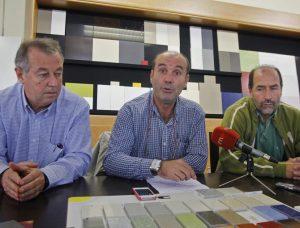Tres de los socios de Seaquarz.