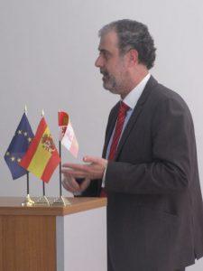 Óscar Lázaro, jefe de promoción de la Agencia de Innovación, Financiación e Internacionalización Empresarial de Castilla y León.