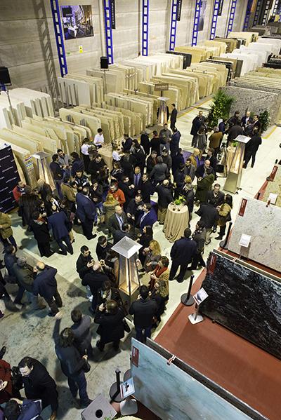 Levantina ,The Natural Stone Company. Show Rooom, Madrid.