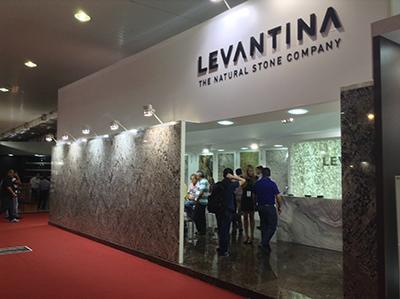 Levantina present en brasil los granitos feratto y lennon for Levantina de granitos