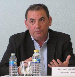 Antonio Martínez, presidente de AEMA.