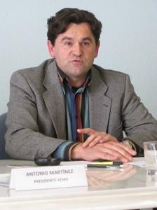 Antonio Sánchez, gerente de Mármoles Camar.