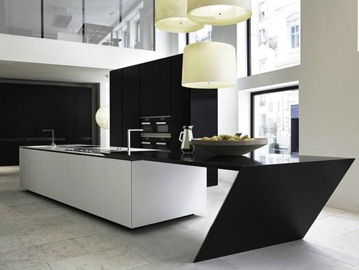 Sharp la cocina con corian dise ada por daniel libeskind - Encimera corian ...
