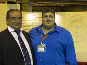 De izquierda a derecha: Jose Antonio Cánovas, administrador y Angel Luis Cano, del departamento de Ventas de Belle Blanche.