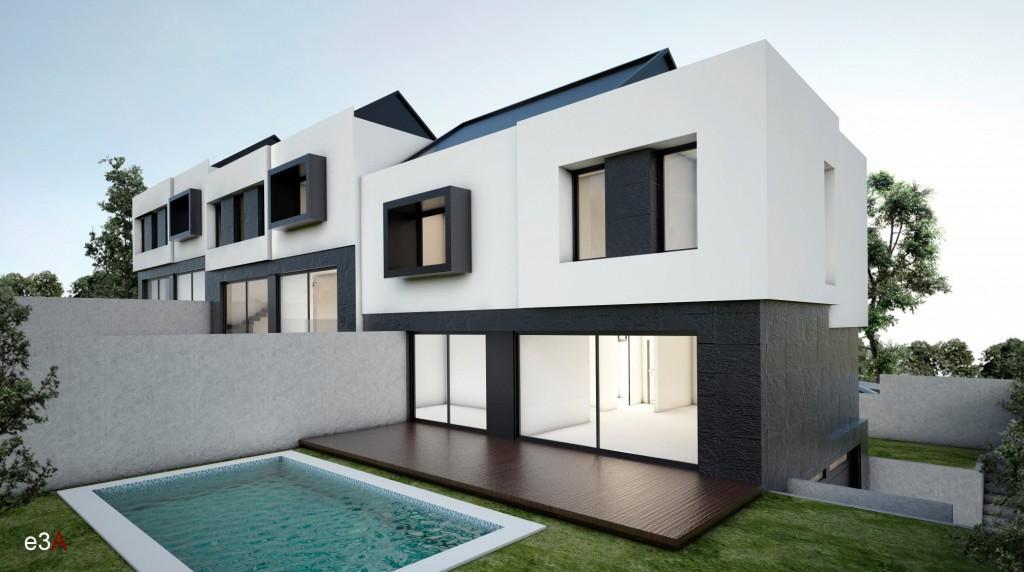 Estudio 3 arquitectos utiliza piedra caliza blanca y - Estudio 3 arquitectos ...