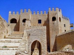Patio de Honor del Castillo de Vélez Blanco