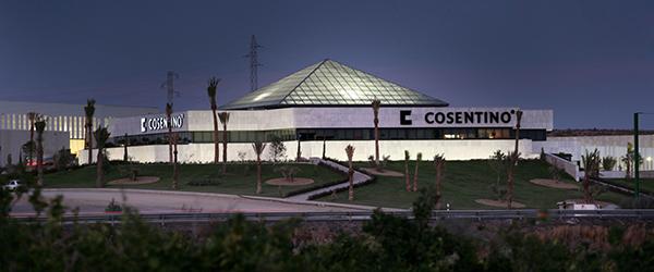 Sede de Cosentino en Cantoria.
