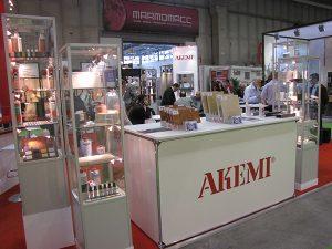 Akemi, empresa que Xabier Aldanondo representa en España.