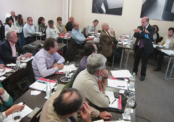 Juan Arquero, director general de Elavadores Neumáticos Ibéricos.