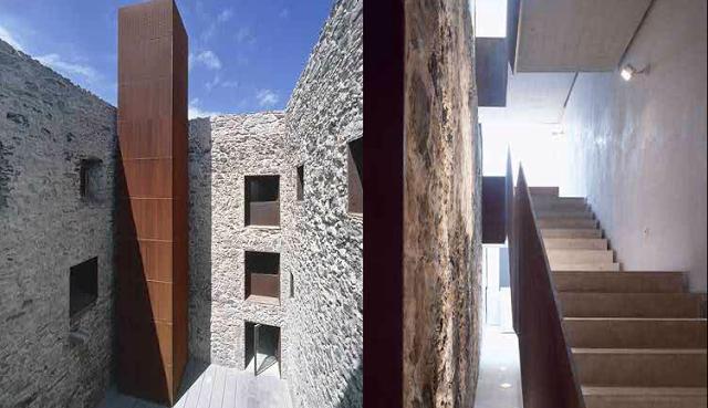 Castillo de la Luz de Nieto+Sobejano, uno de los nominados.