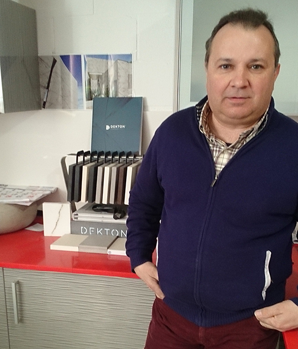 Félix Expósito, gerente de Riostones.