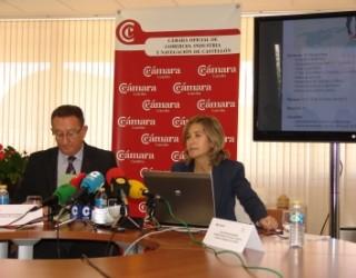 Manuel Rubert, presidente de Cevisama y Carmen Álvarez, directora del certamen.