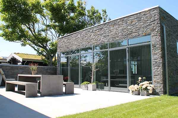 Cupa stone y foamglas presentan en madrid soluciones - Fachadas ventiladas de piedra ...