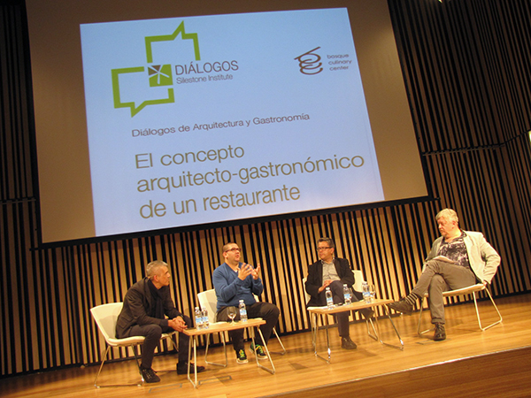 De izda a drcha: Juan Carlos Rodríguez, Dani García,  Santiago Alfonso y Federico Oldenburg.