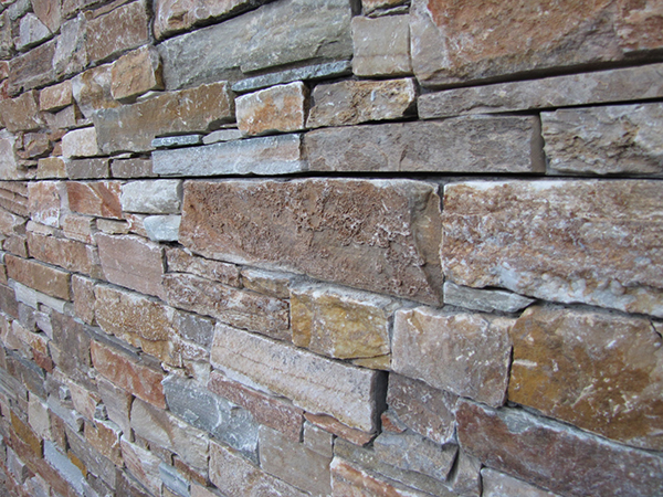 Muro de mamposteria con Stonepanel