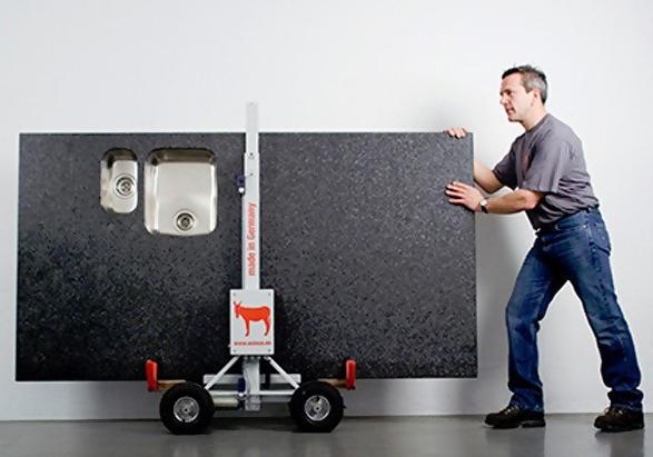 Carro para transporte de encimeras y tableros asinus 350 for Carros para transportar