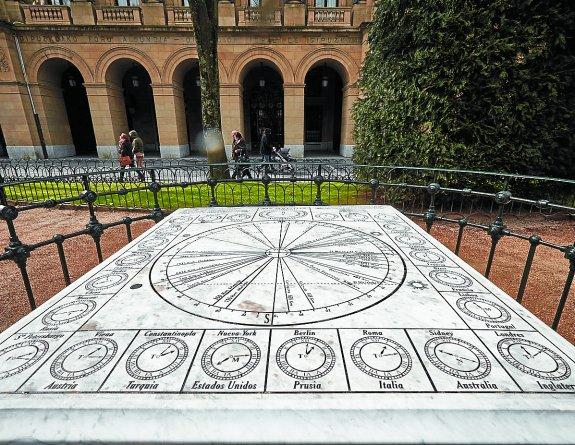 mesa horaria Marmoles Etxandi