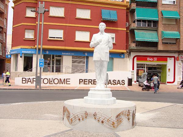 escultura Batolomé Perez Casas