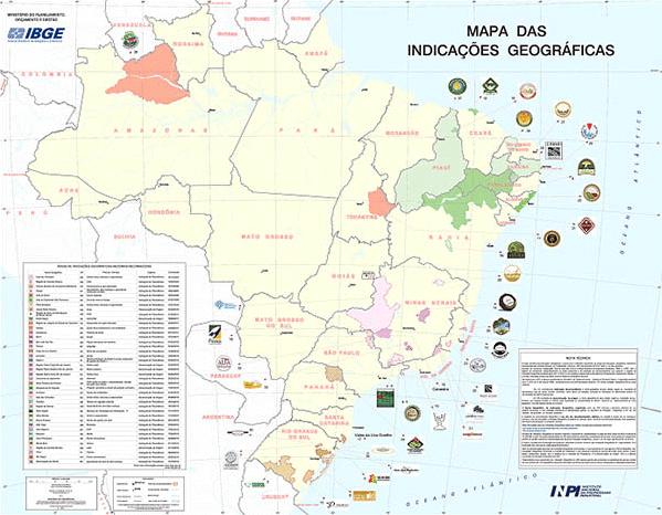 mapa identificacion geografica brasil