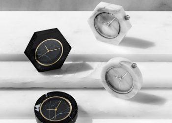 relojes de mármol