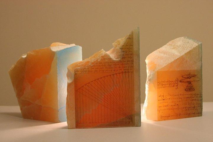 impresión en piedra