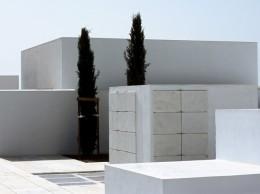 cementerio moderno