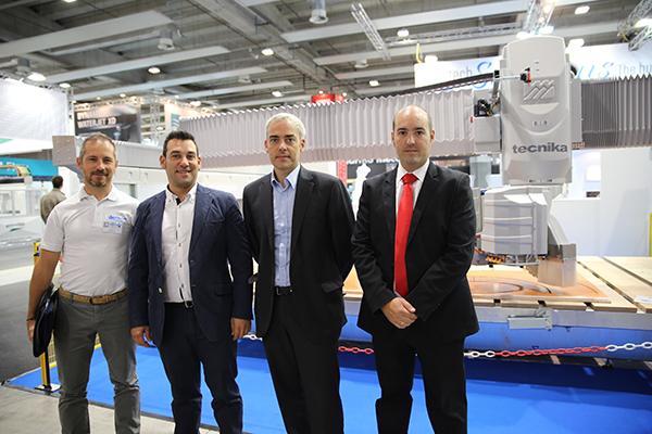 Franco Baracchini y el equipo de Insemac, distribuidor de Denver España.