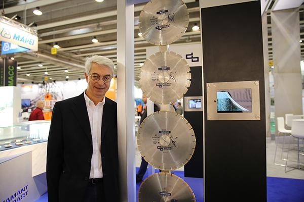 Jean-Michel Parys, Project Manager, Marketing Communication de Diamant Boart.