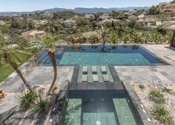 piscina en piedra